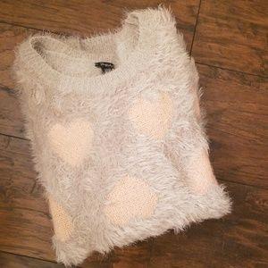 F21 Fuzzy Sweater